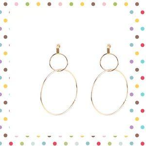 Jewelry - Double Hoop Earrings